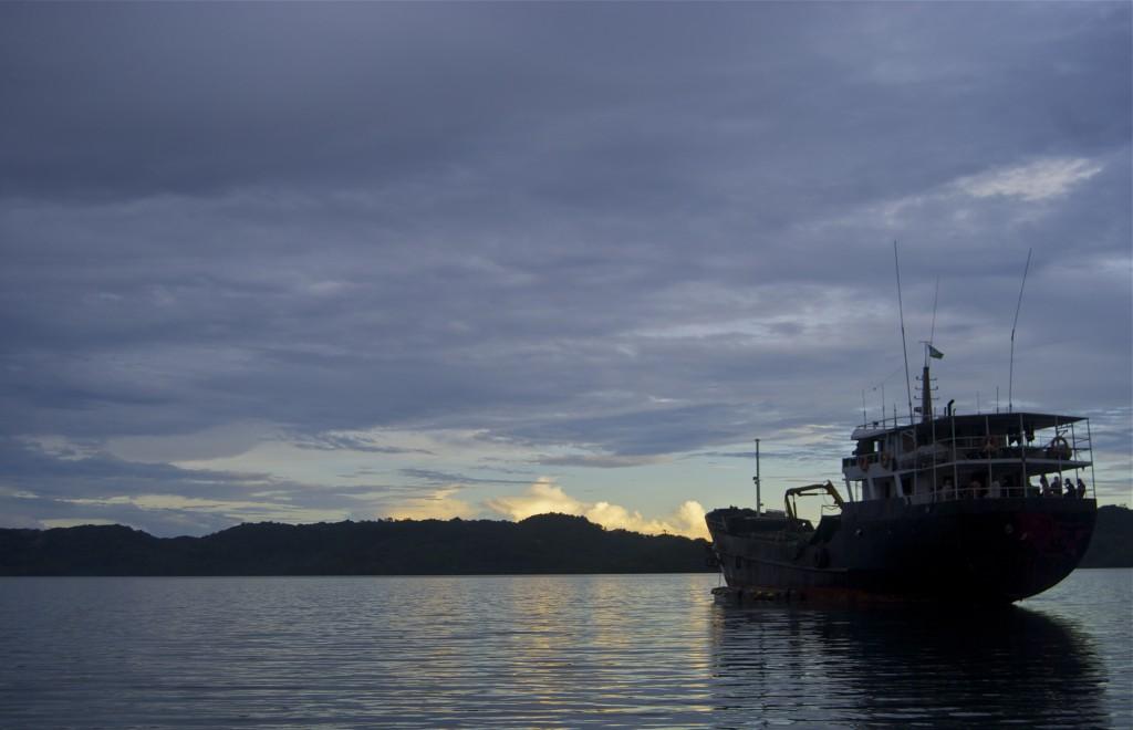 boat in tulagi