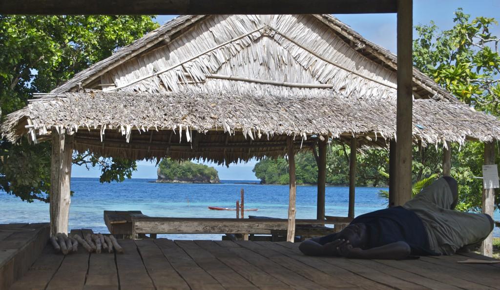 sleeping in tulagi