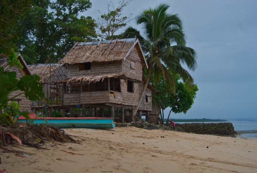 typical island home
